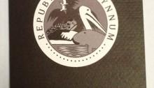 Republic of Wynnum passport front cover