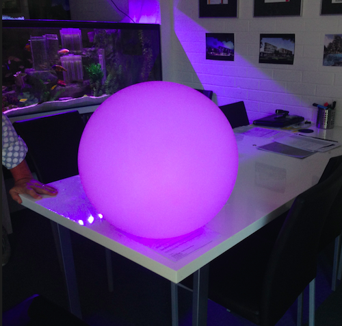Floating Ball Purple