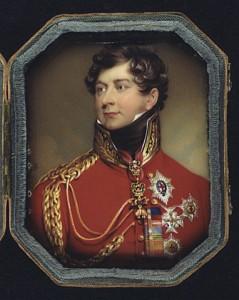 Prince Regent (later George IV of England)