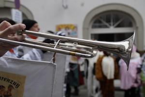 fanfare of trumpets